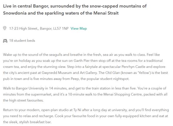 Bangor Student.com