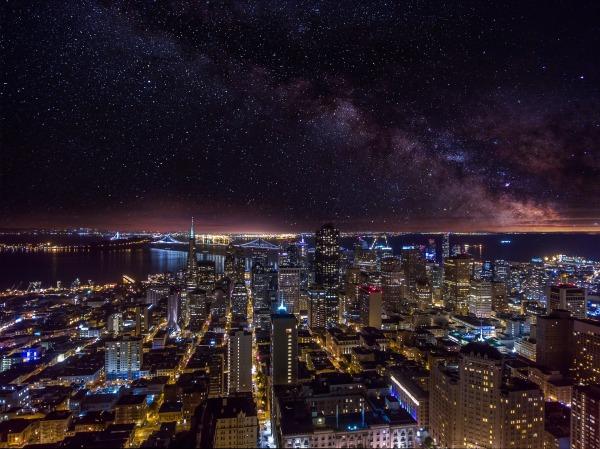 San Francico Milky Sky