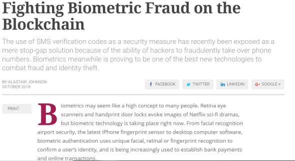 biometric fraud