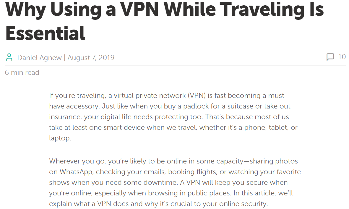 Namecheap VPN Article Daniel Agnew